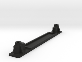 Traxxas Bigfoot #1 Rear Body Mount for Clodbuster in Black Natural Versatile Plastic