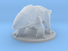 Bulette in Smooth Fine Detail Plastic