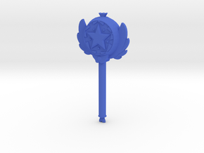 Royal Magical Star Wand Mini in Blue Processed Versatile Plastic