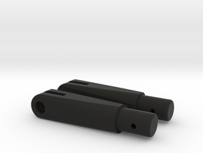 Stock hinge (2x) AGM MP40  in Black Natural Versatile Plastic