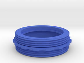 Coupler for Nebo REDLINE Classic OC Flashlight in Blue Processed Versatile Plastic