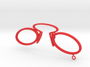 12b-ring-l in Red Processed Versatile Plastic