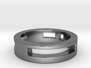 suka Ring Size 7 in Fine Detail Polished Silver