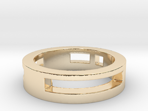 suka Ring Size 7 in 14K Yellow Gold