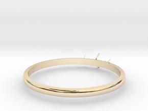3 - Diamond Ring in 14K Yellow Gold: 6 / 51.5