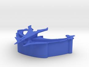 Son'a Command - Battlecruiser in Blue Processed Versatile Plastic