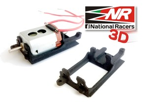3D Motor Mount replacement for Ninco 80605  in Black Strong & Flexible