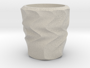 Shot Glass Planter3 in Natural Sandstone