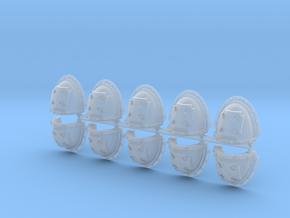 Elites Mk3 Shoulder Pads x10 in Smooth Fine Detail Plastic