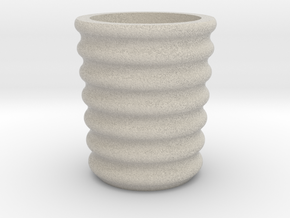 Shot glass Planter6 in Natural Sandstone
