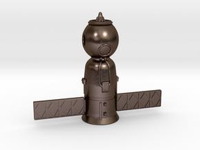 Soyuz_Pendant in Polished Bronze Steel
