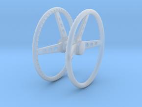 Mooneyes 1/25 steering wheel pr in Smooth Fine Detail Plastic