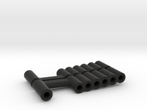 Super SuDu Shock Spacer  in Black Natural Versatile Plastic