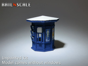 Kiosk 'Pietje Bell' (N 1:160) in Smooth Fine Detail Plastic