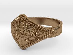 Ring of Favor in Natural Brass: 8 / 56.75