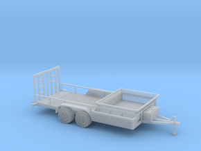 Dump Trailer Long 1-50 Scale in Smooth Fine Detail Plastic