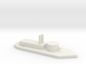 Union Ship 1 in White Natural Versatile Plastic
