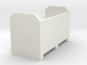 Reifenbox in White Natural Versatile Plastic