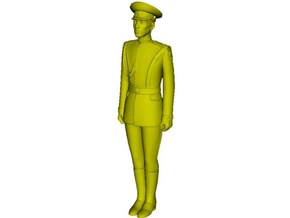 1/16 scale USSR & Russian Army honor guard soldier in Smooth Fine Detail Plastic