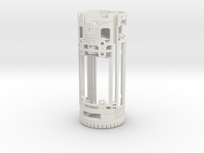 Graflex Mentor - Var1 Part09 - Main Gen Style 1  in White Natural Versatile Plastic
