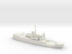 1/285 Scale USCGC WMEC-38 Storis in White Natural Versatile Plastic