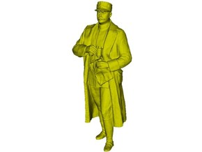 1/15 scale Romanian Army General Ion Dragalina in Smooth Fine Detail Plastic