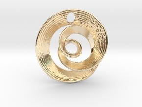 Mobius IX in 14K Yellow Gold