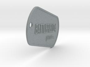 BF4 Gamer Dog Tags in Polished Metallic Plastic