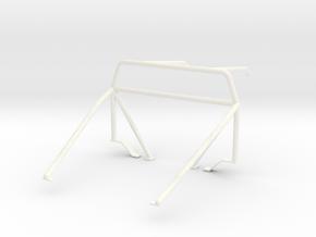 Roll cage 1/12 V3 in White Processed Versatile Plastic