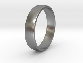 Outer ring for DIY bicolor ring in Natural Silver