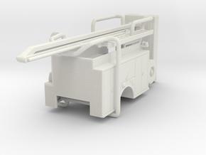 1/87 ALF SQURT body compartment doors #1 w/ boom in White Natural Versatile Plastic