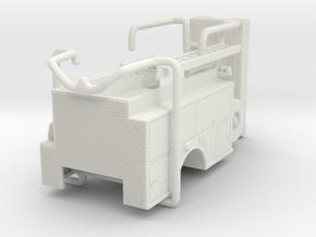 1/87 ALF SQURT body compartment doors #3 in White Natural Versatile Plastic