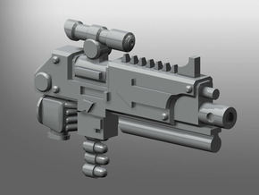 Corrupted Prime Thunder-rifle in Smooth Fine Detail Plastic