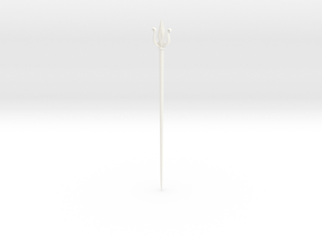 King Choloh Staff in White Processed Versatile Plastic