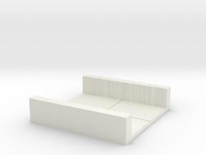 2x2_rough_hall in White Natural Versatile Plastic