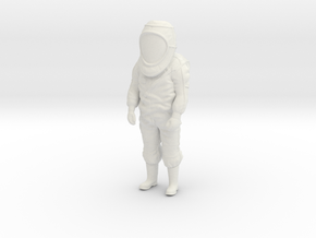 HazmatSuit / Standing / 1:32 in White Natural Versatile Plastic