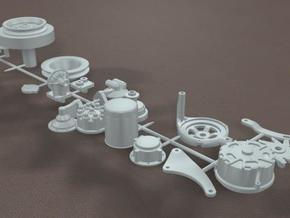 1/8 427 Side Oiler Miscellaneous Small Parts Kit in Frosted Ultra Detail