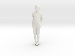 Printle C Kid 205 - 1/22.5 - wob in White Natural Versatile Plastic