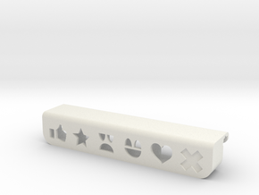 Moooood for laptop in White Natural Versatile Plastic
