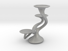 "Tripla Candelabra - Votive (1.5"") Candle in Aluminum"