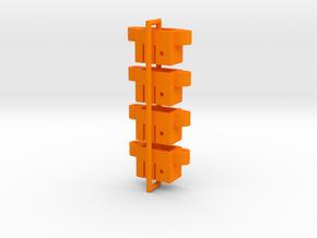 ENVK01-03 Novak Square Switch Adapter, 3rd Gen in Orange Processed Versatile Plastic