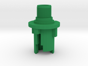 M4 5mm Outer Barrel (14mm-) in Green Processed Versatile Plastic