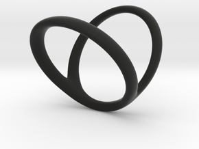 ring for Jessica ring-finger in Black Premium Strong & Flexible