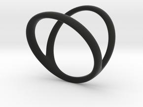 ring for Jessica thumb-finger in Black Premium Strong & Flexible