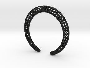 DRAGON Strutura, Bracelet. in Black Premium Versatile Plastic: Extra Small