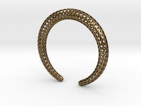 DRAGON Strutura, Bracelet. in Natural Bronze: Medium