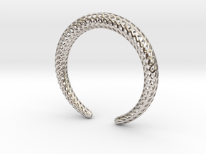 DRAGON Strutura, Bracelet. in Platinum: Medium