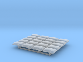 1/64 Bags in Smooth Fine Detail Plastic