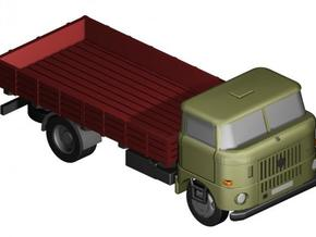 W50 Pritsche (lang) / Flat bed (long) (Z-1:220) in Frosted Ultra Detail
