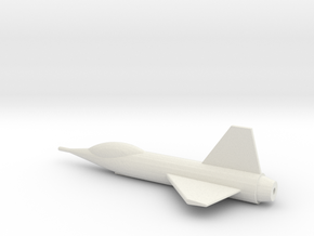 Parasite Fighter 144:1 Scale in White Natural Versatile Plastic